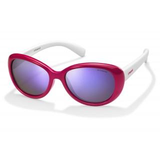 Солнцезащитные очки Polaroid арт K5004B, модель PLD8004-S-T4L-48-MF