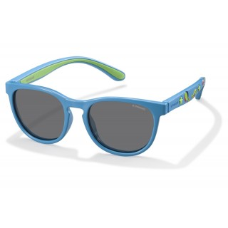 Солнцезащитные очки Polaroid арт K6013A, модель PLD8013-S-MBL-46-Y2
